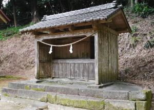 ⑥中末社:正八幡宮⑦左末社:前神王社